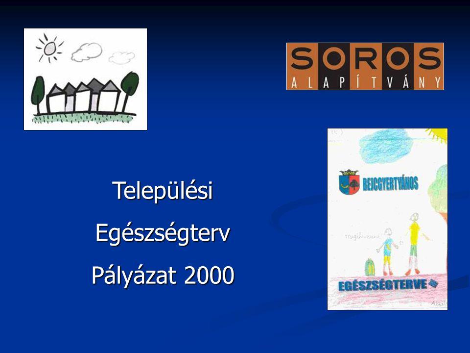 TelepülésiEgészségterv Pályázat 2000