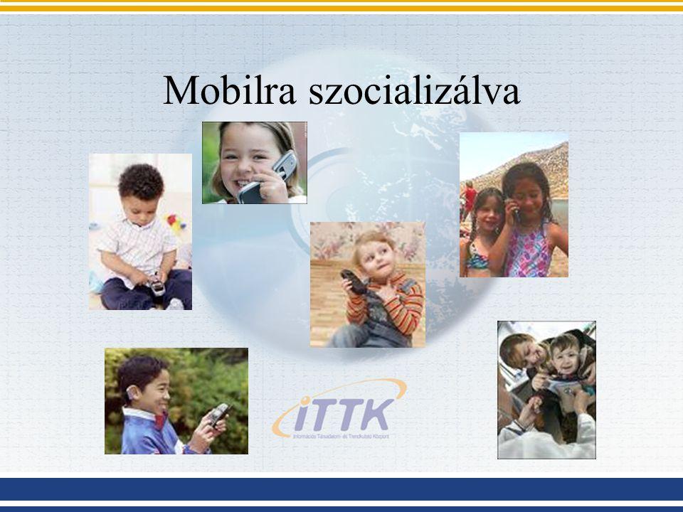 M.E: mobil előtt A legifjabb generációk már nem tudják, hogy milyen egy mobiltelefon nélküli világban élni.