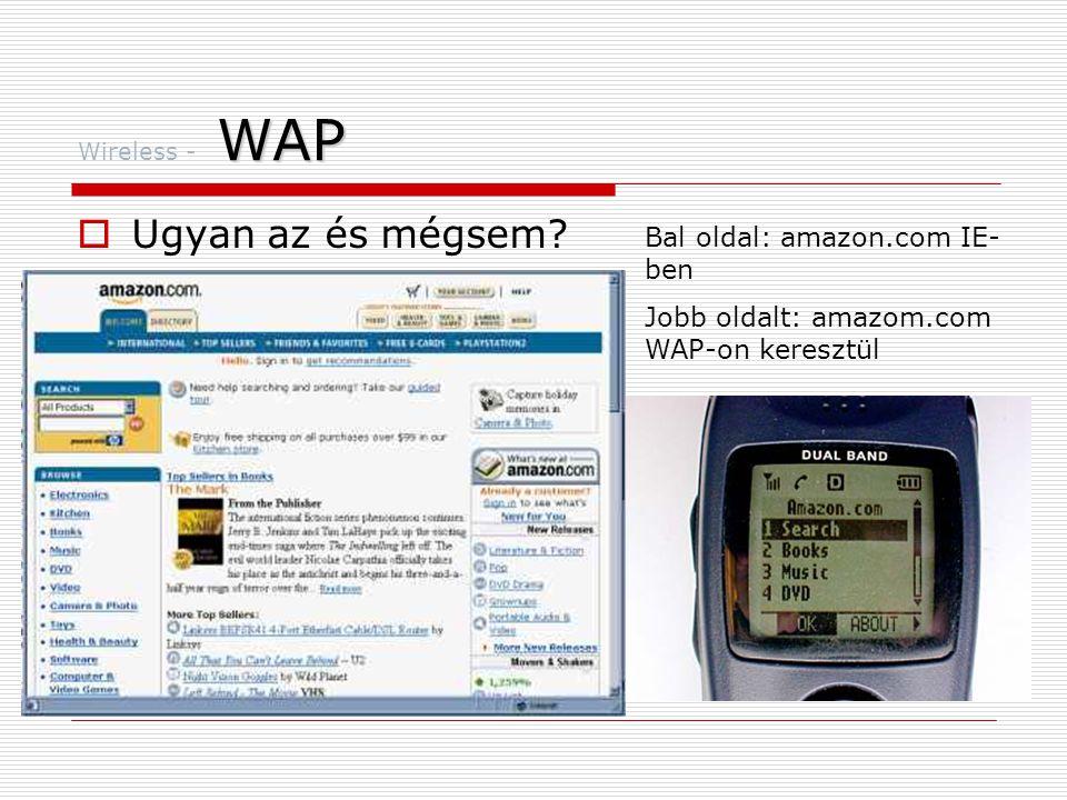 WAP Wireless - WAP  Ugyan az és mégsem.
