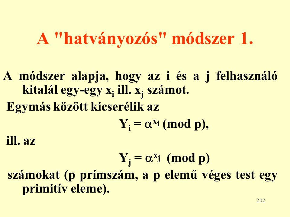 203 A hatványozós módszer 2.