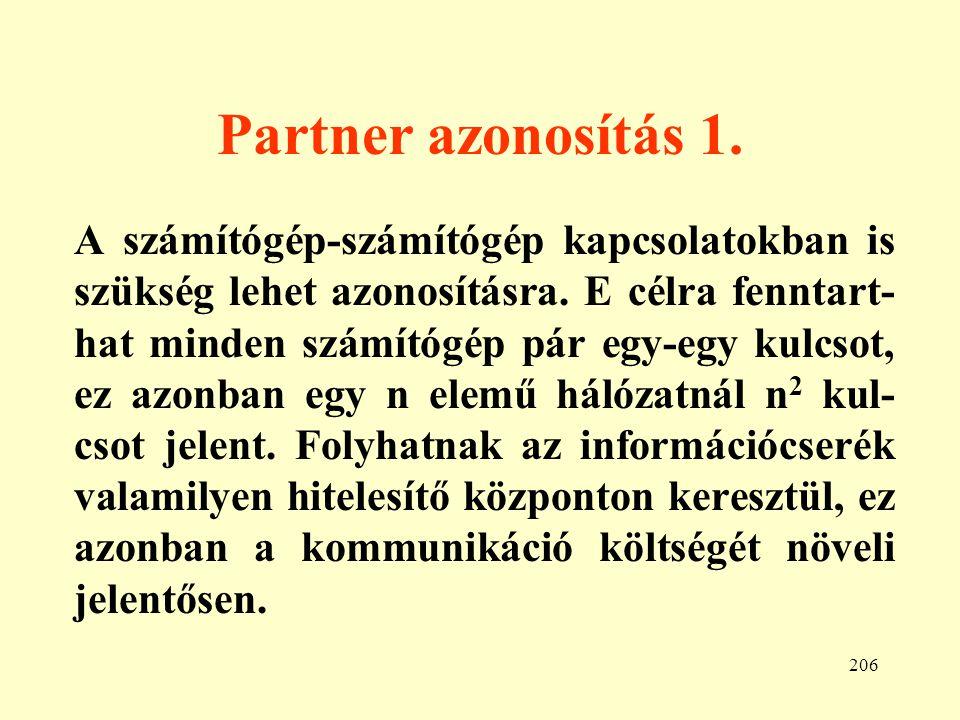 207 Partner azonosítás 2.