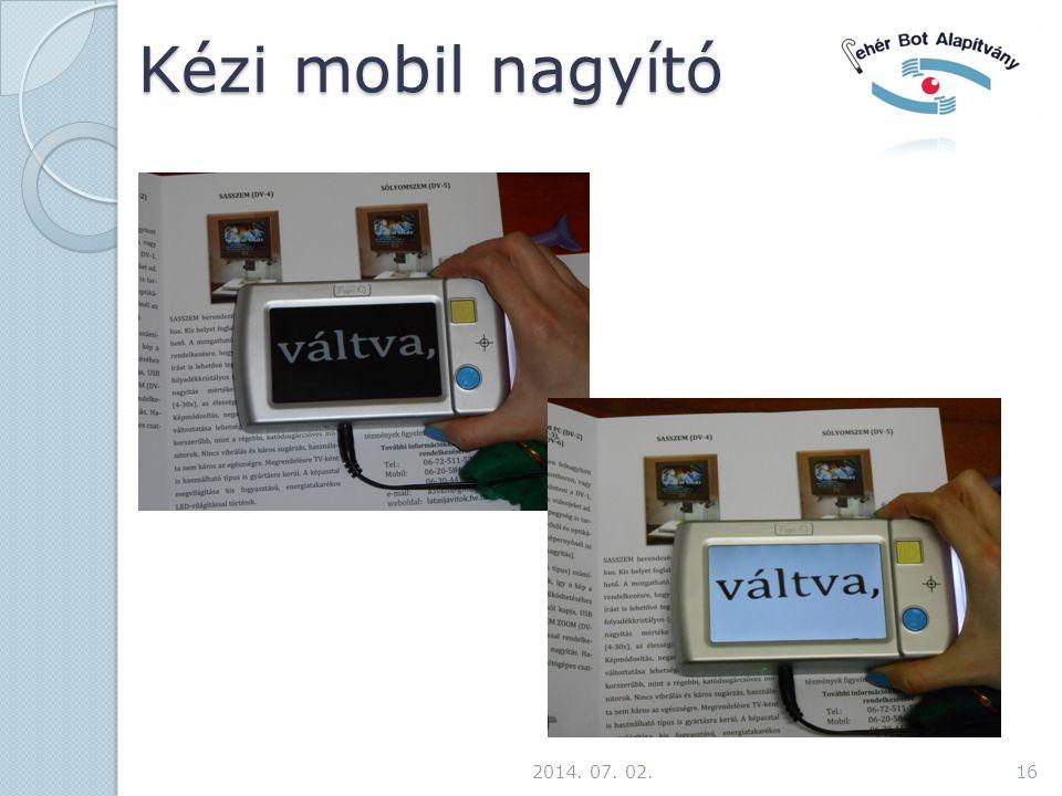 Kézi mobil nagyító 2014. 07. 02.16