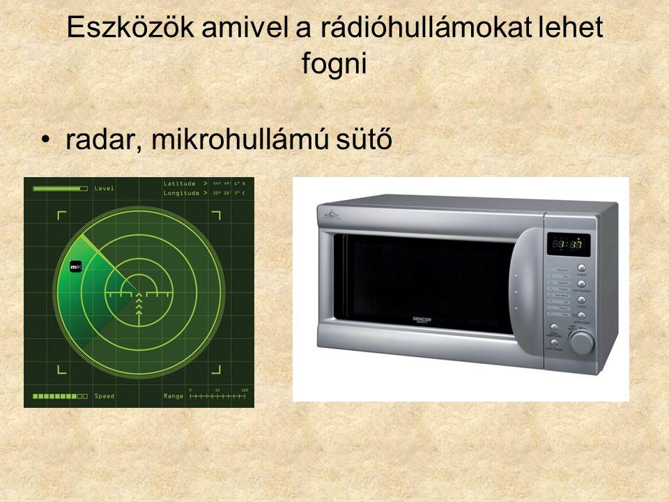 •Rádió- és TV adás
