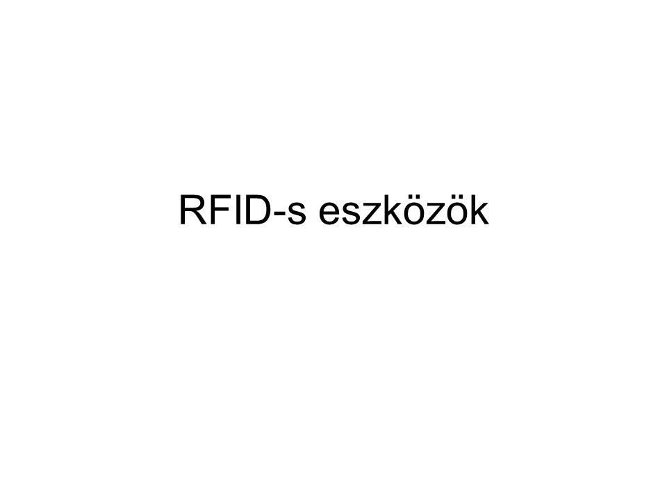 RFID-s eszközök