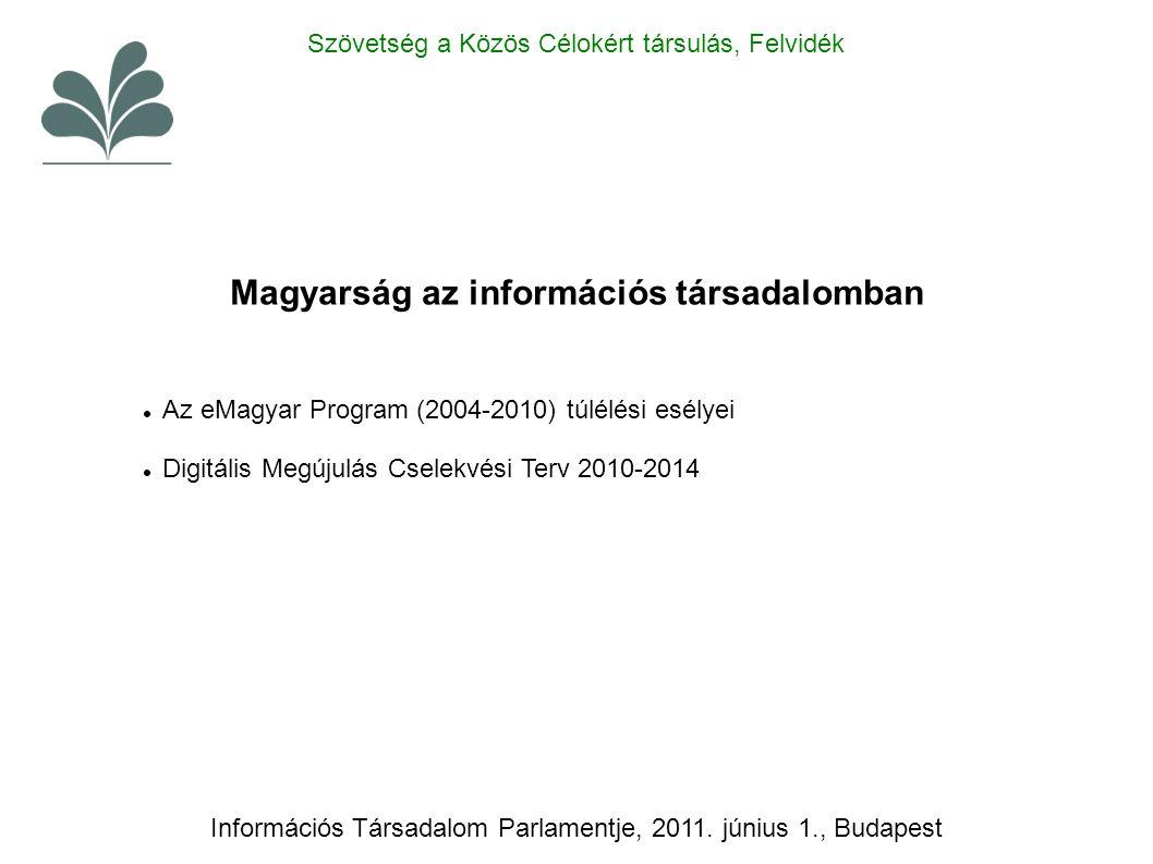 Információs Társadalom Parlamentje, 2011.