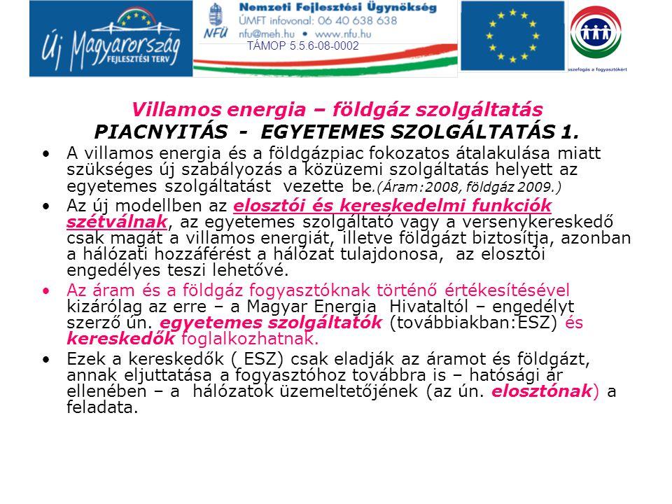 TÁMOP 5.5.6-08-0002 PIACNYITÁS - EGYETEMES SZOLGÁLTATÁS 2.