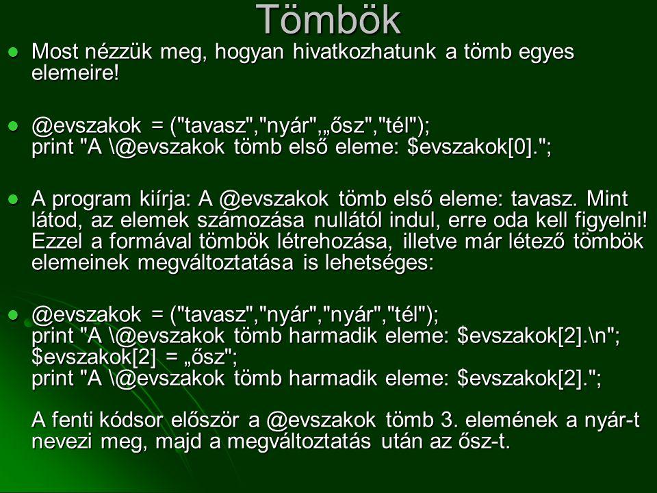 Logikai operátorok  and, or, not - &&, ||, .