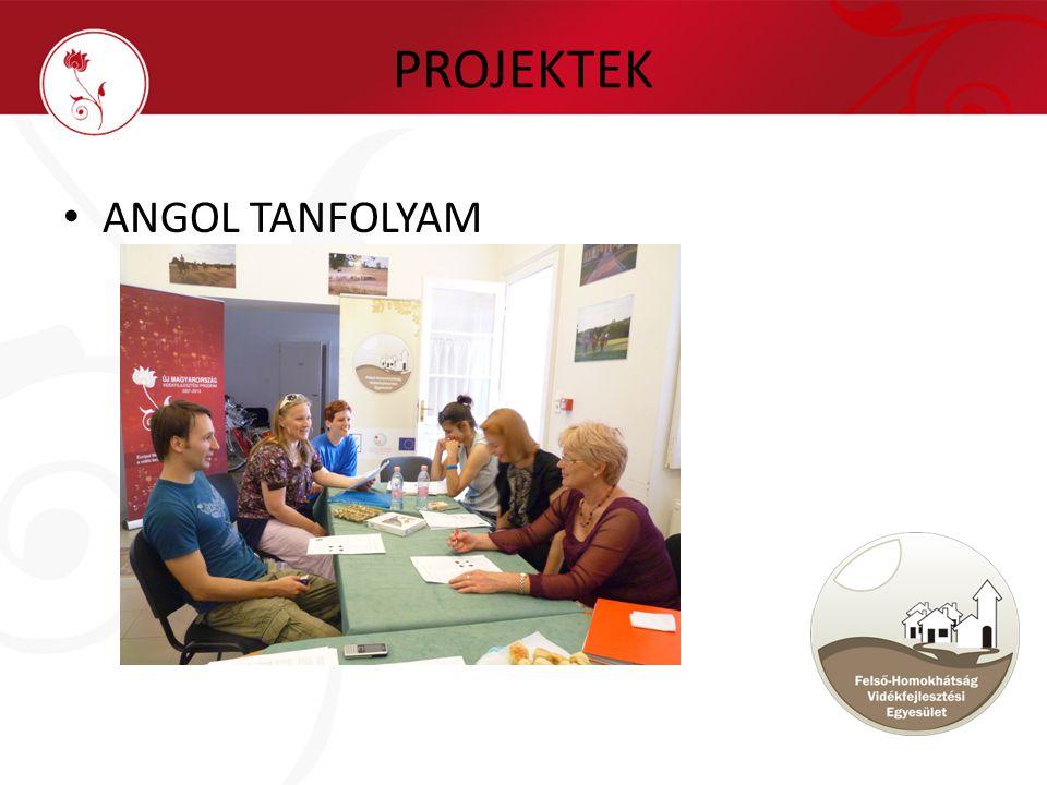 PROJEKTEK • ANGOL TANFOLYAM
