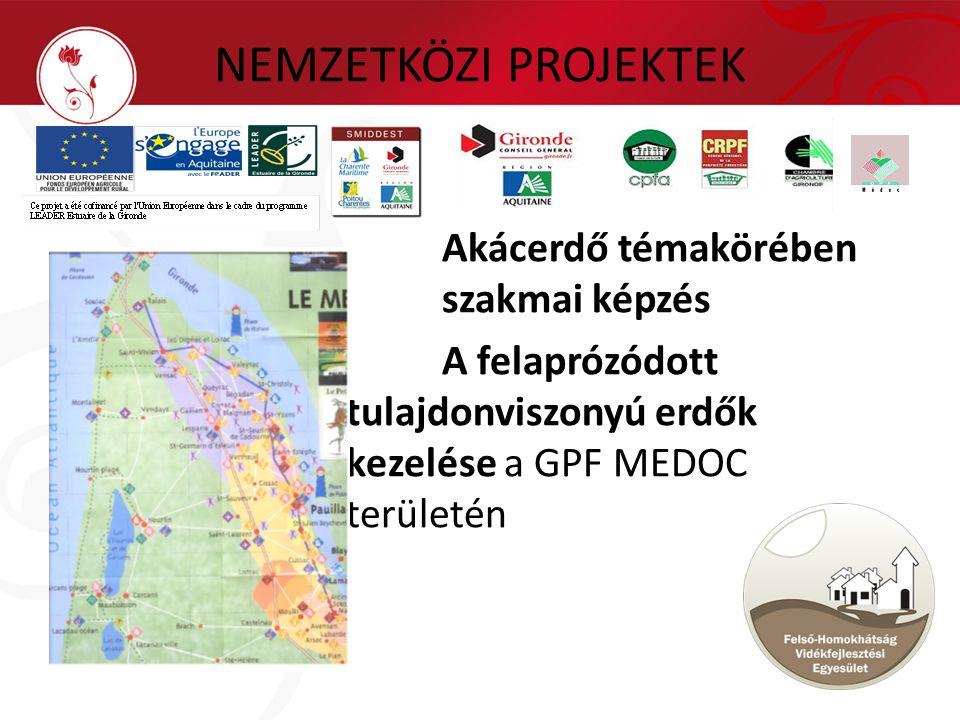 Akácerdő témakörében szakmai képzés A felaprózódott tulajdonviszonyú erdők kezelése a GPF MEDOC területén