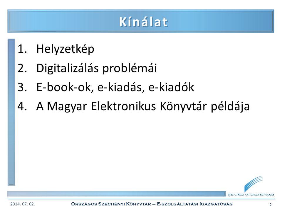 BIBLIOTHECA NATIONALIS HUNGARIAE A MEK mint példa 2.