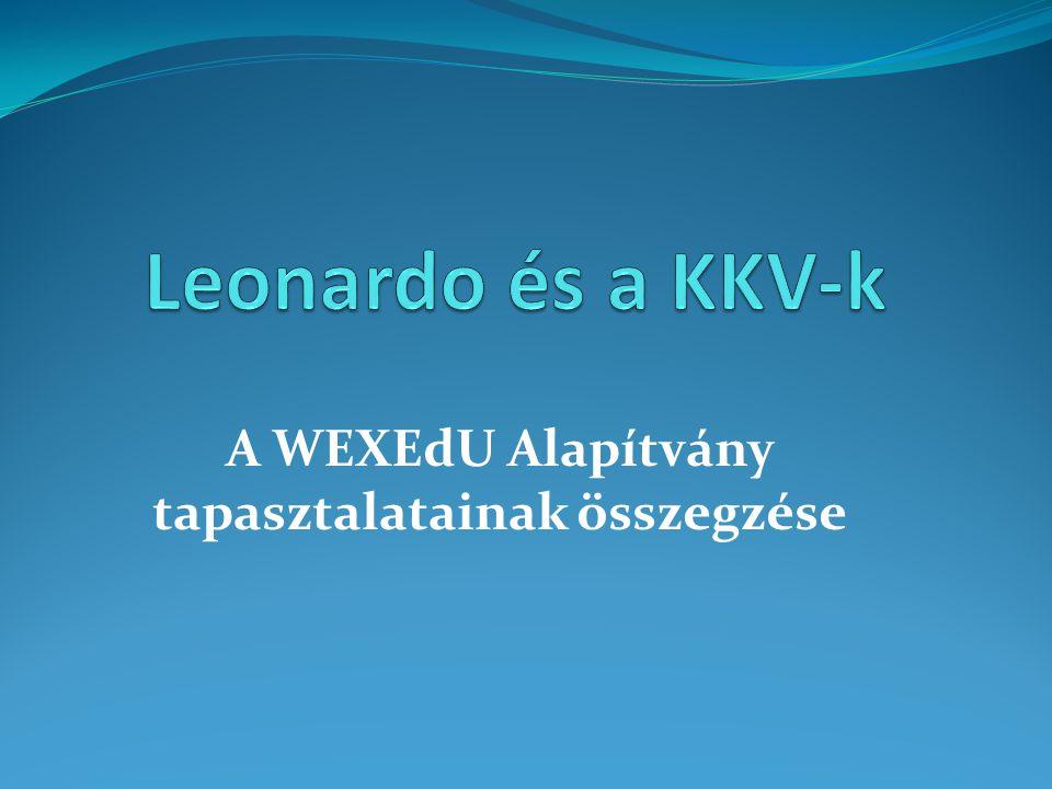 A WEXEdU Alapítvány tapasztalatainak összegzése