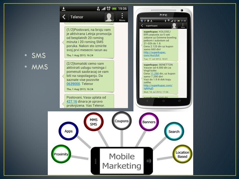 • SMS • MMS