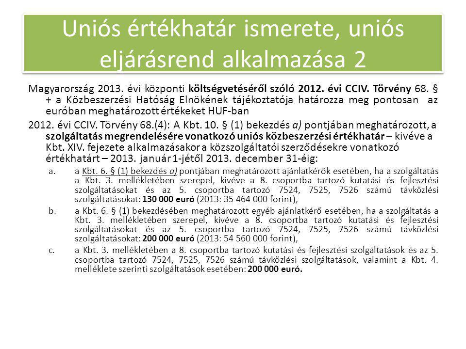 Magyarország 2013. évi központi költségvetéséről szóló 2012.