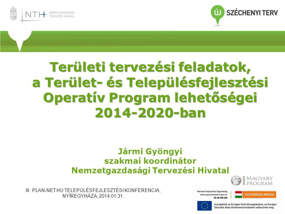 TOP-hoz kapcsolódó uniós részdokumentumok fázisai • I.