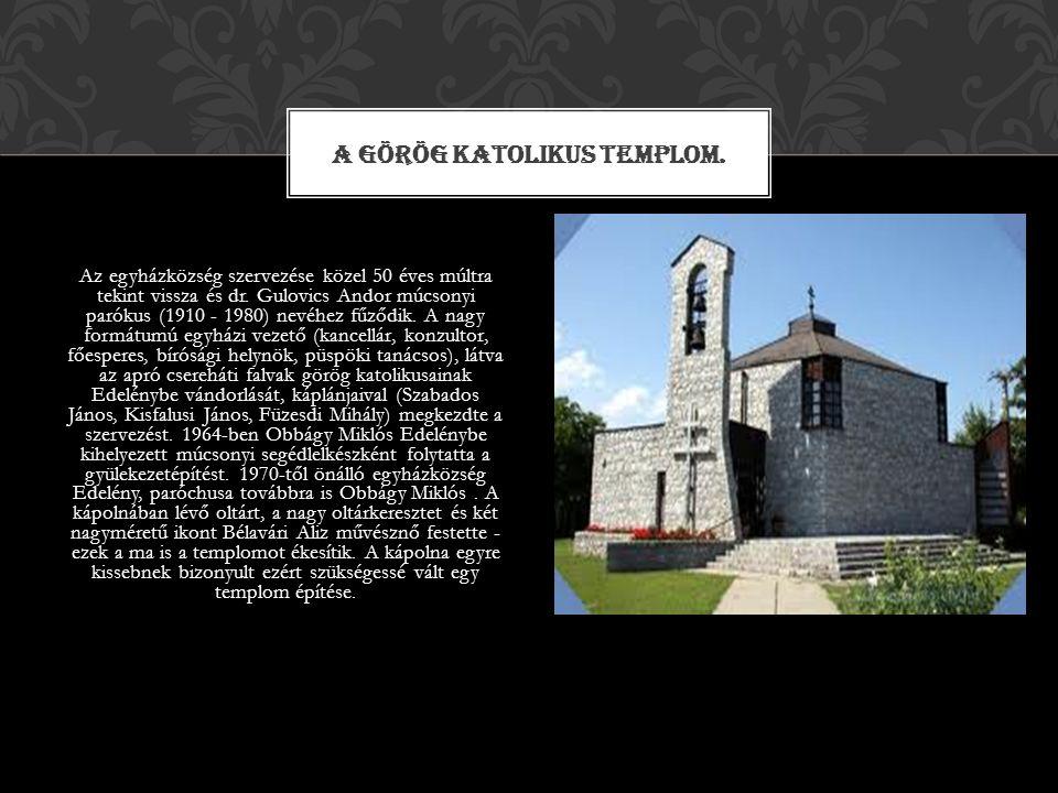 Műemlék református templom, 1330 körül épült.