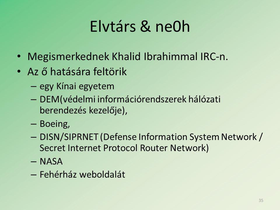 Elvtárs & ne0h • Megismerkednek Khalid Ibrahimmal IRC-n.