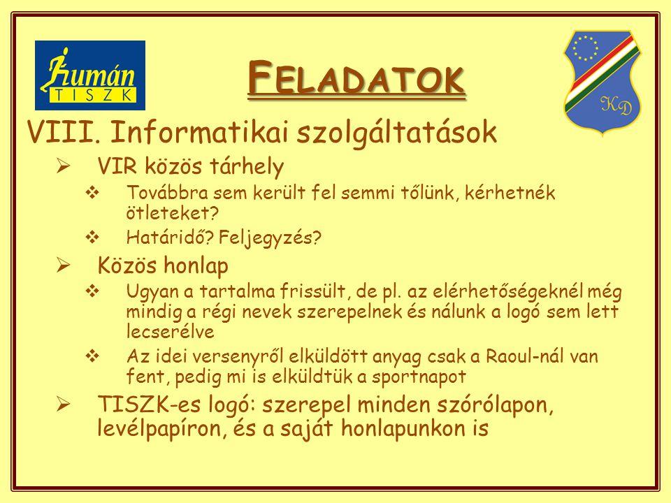 """E GYEBEK  Környezetvédelmi, fogyasztóvédelmi foglalkozások  Bűnmegelőzési program  Beteg gyerekek látogatása, óvodai műsorok  Mikulásgyár, """"cipős-doboz akció  Ápolók napja kulturális műsor  Újpesti rendezvényeken legaktívabb iskola  Újpest - diákpolgármestere cím  Sport: versenyek (röplabda bajnokság), rendezvények"""