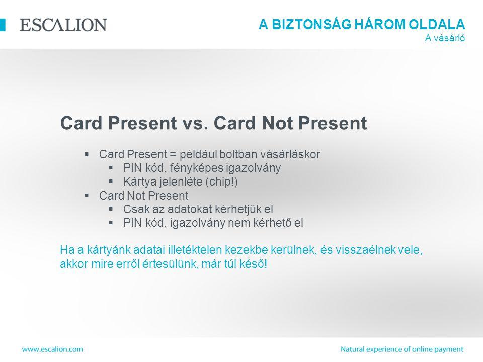 Card Present vs.