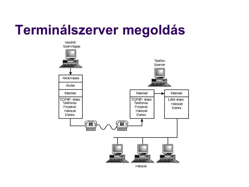 ADSL - Asymmetric Digital Subscriber Line  Aszimmetrikus digitális előfizetői vonal.