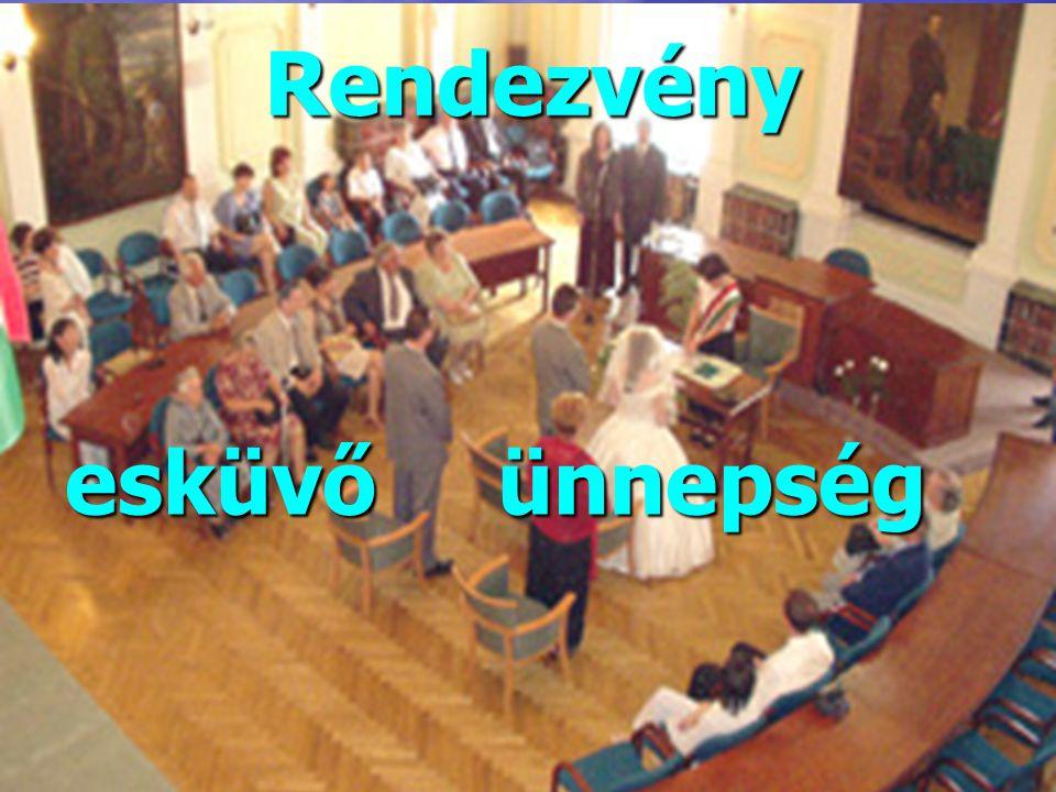 esküvőünnepség Rendezvény