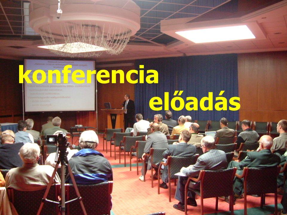 előadás konferencia