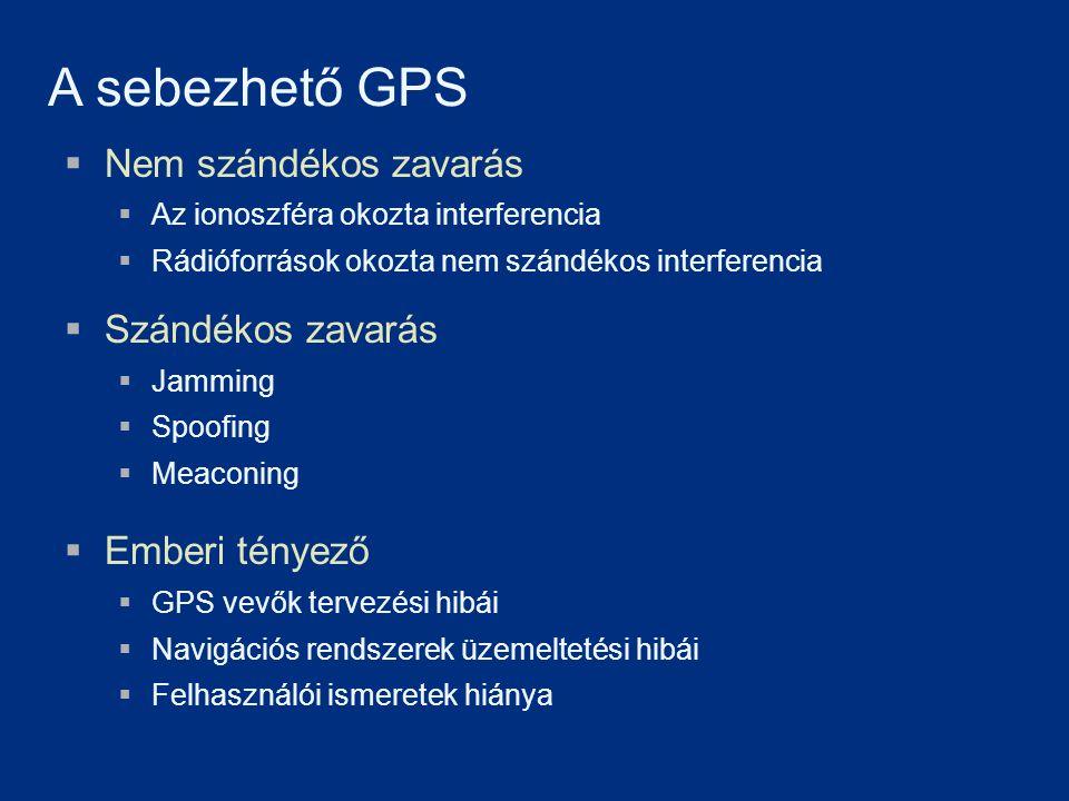 Professor David Last [257]Last, J.D., 'Global satellite navigation in Europe - On course?', The European Navigation Conference GNSS2003, Graz, Austria, 22-25 April 2003 (Invited keynote paper) GPS Jammerek