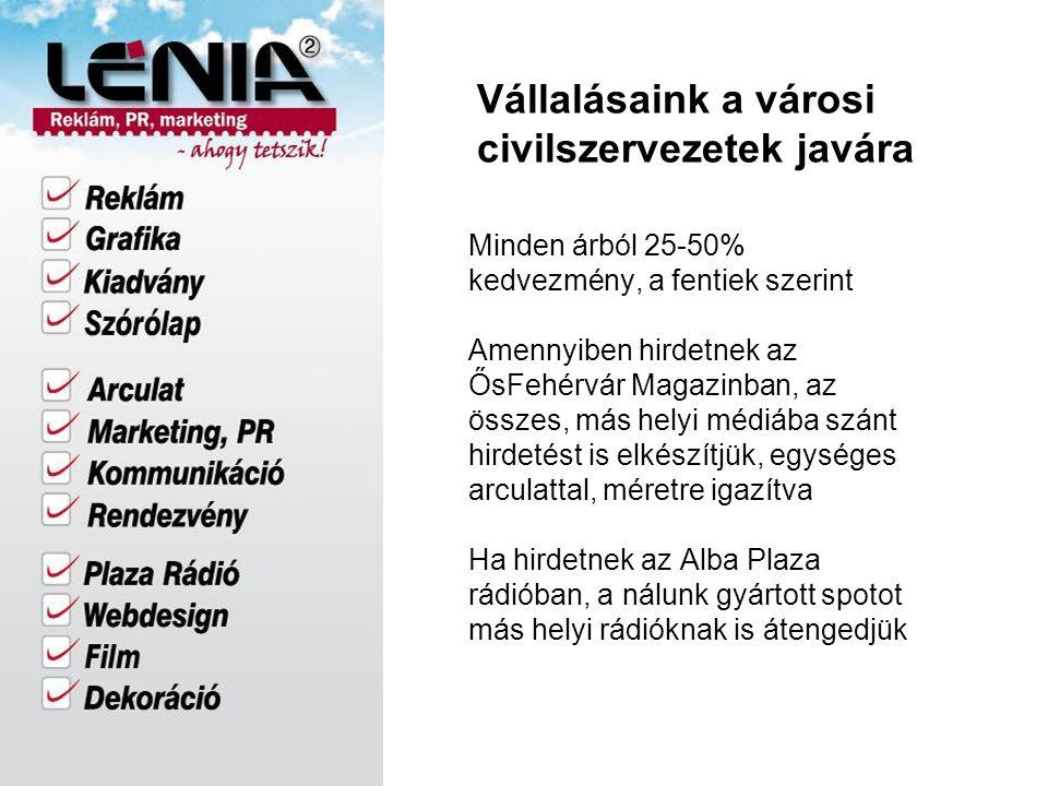 Kapcsolat Telefon: 22/340-840 Kapcsolattartó: Tóth Gabriella: 06-20/346-0045 További információ: www.lenia2.hu www.osfehervar.hu