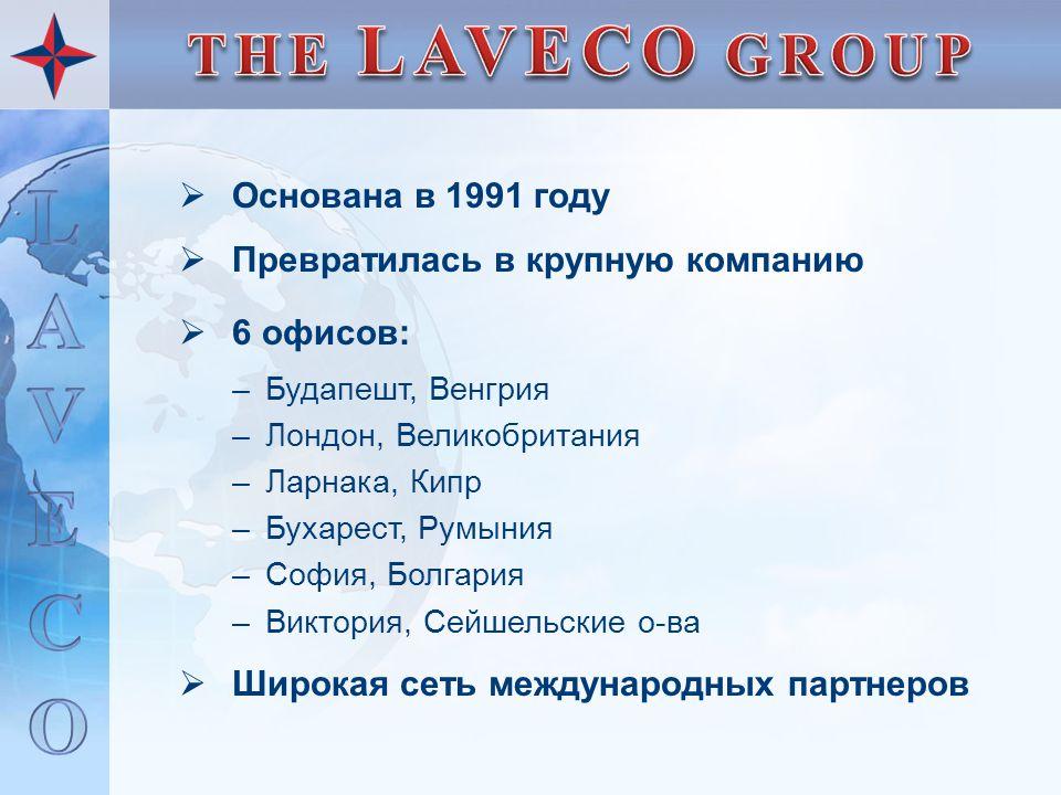  Основана в 1991 году  Превратилась в крупную компанию  6 офисов: –Будапешт, Венгрия –Лондон, Великобритания –Ларнака, Кипр –Бухарест, Румыния –Соф