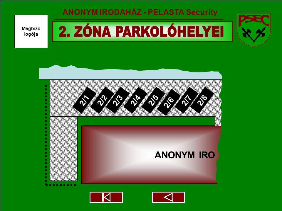 ANONYM IRO 2/12/22/32/42/5 2/6 2/72/8 Megbízó logója ANONYM IRODAHÁZ - PELASTA Security