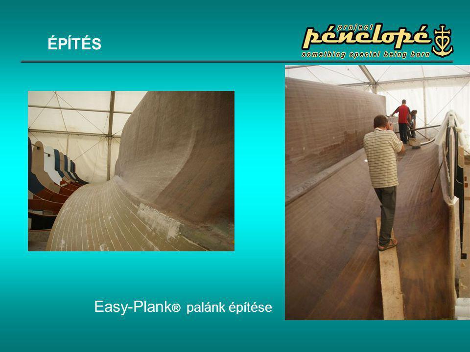 Easy-Plank ® palánk építése ÉPÍTÉS