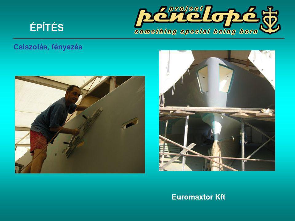 Euromaxtor Kft ÉPÍTÉS Csiszolás, fényezés