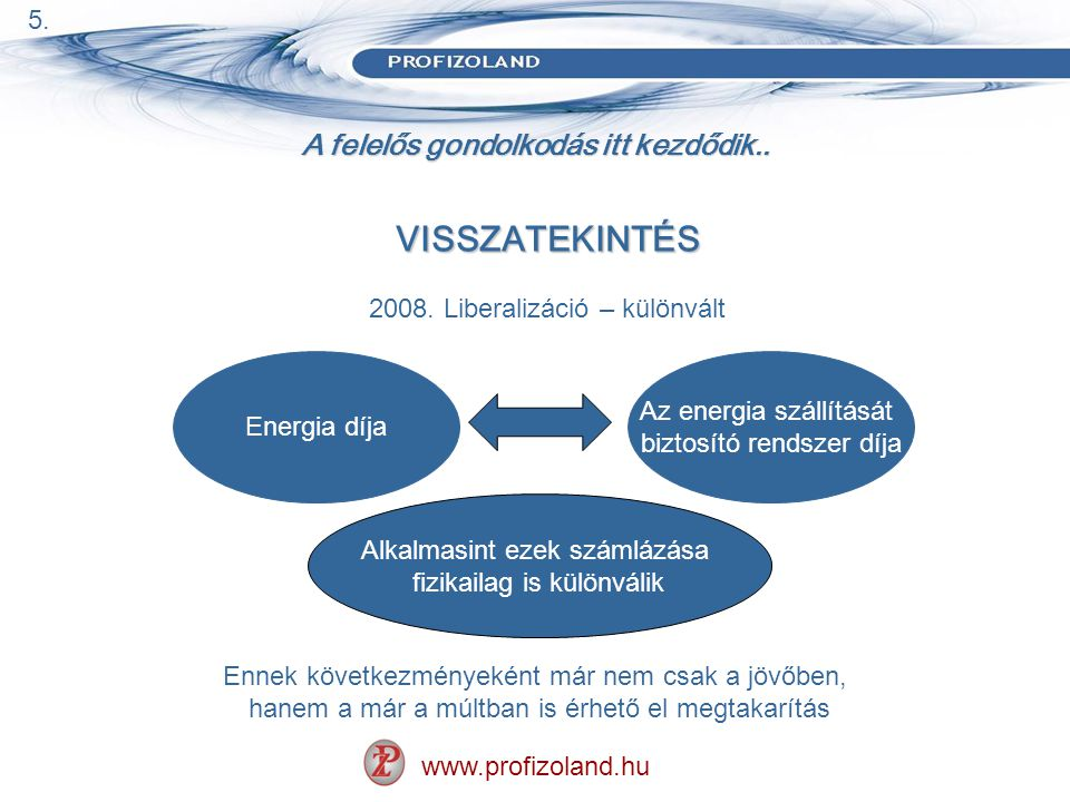 A felelős gondolkodás itt kezdődik.. www.profizoland.hu VISSZATEKINTÉS 2008.