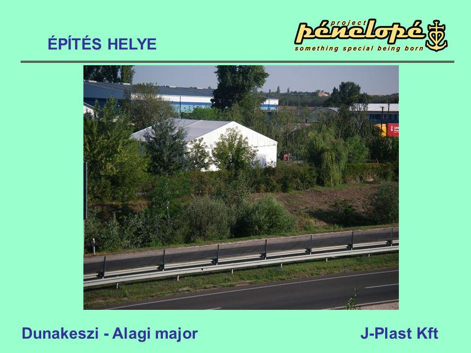 Dunakeszi - Alagi major J-Plast Kft ÉPÍTÉS HELYE