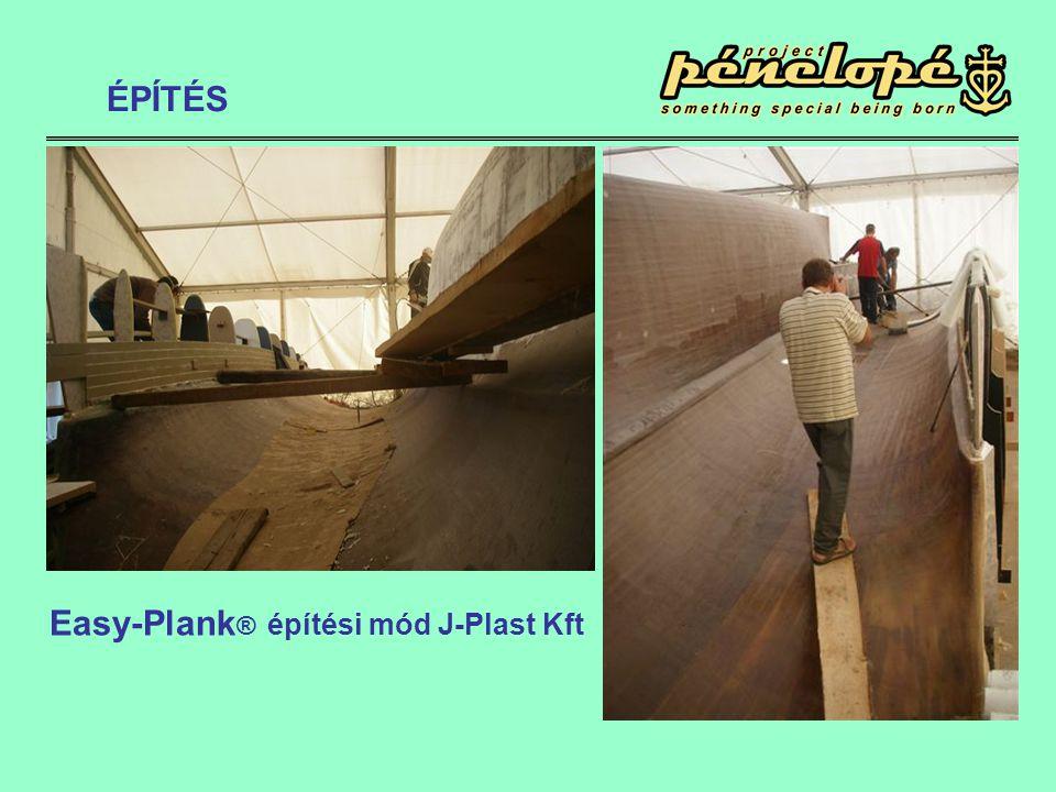 Easy-Plank ® építési mód J-Plast Kft ÉPÍTÉS