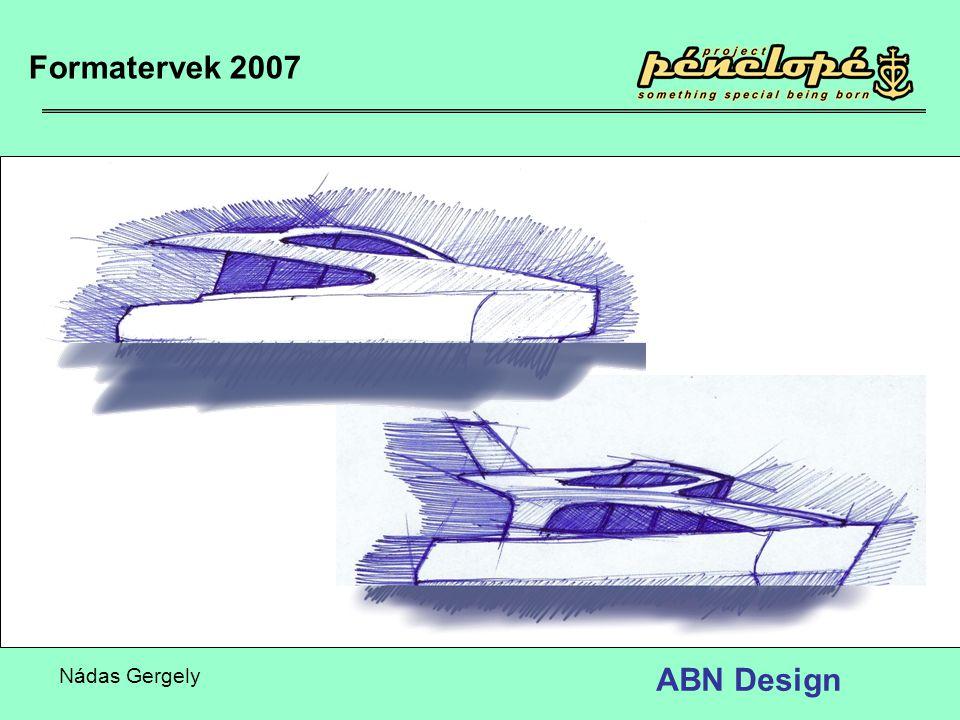 Formatervek 2007 ABN Design Nádas Gergely