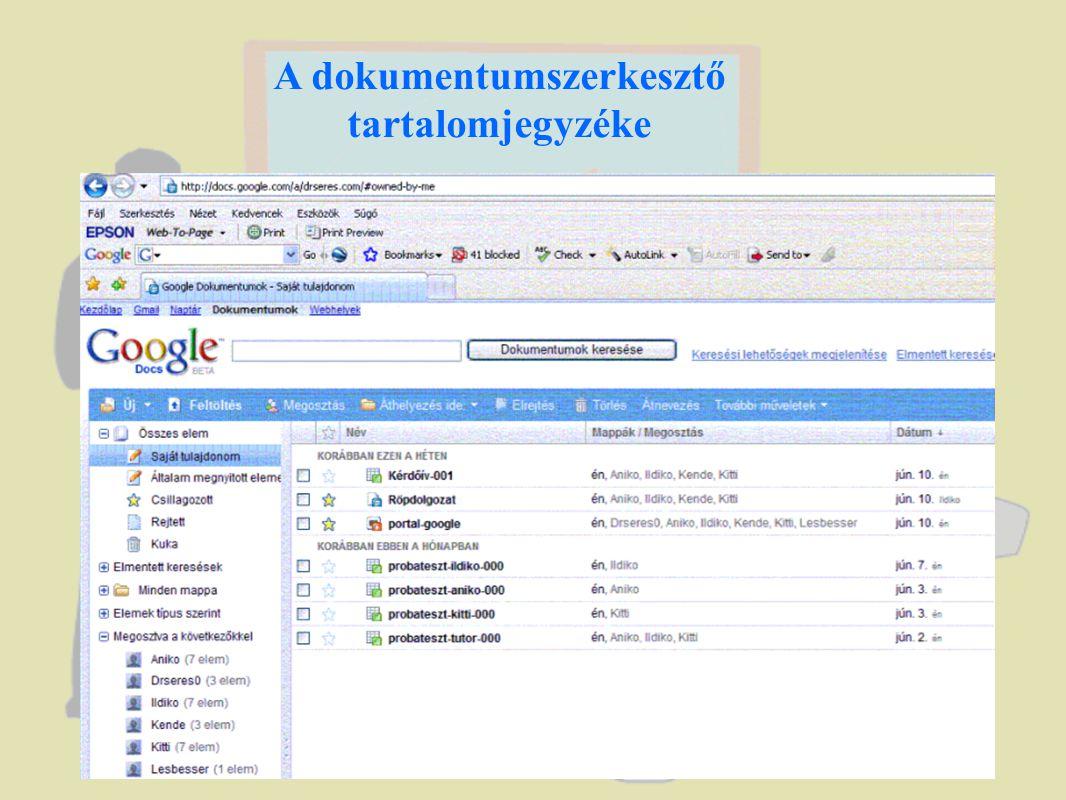 Prezentáció Skype online kapcsolattal