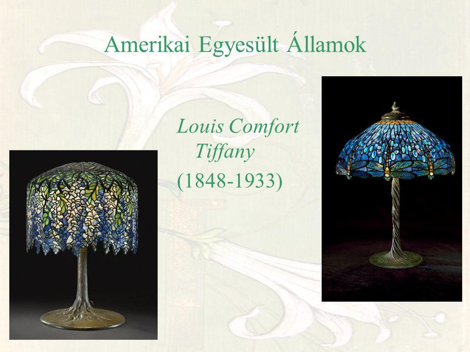 Amerikai Egyesült Államok Louis Comfort Tiffany (1848-1933)