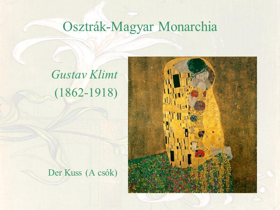 Osztrák-Magyar Monarchia Gustav Klimt (1862-1918) Der Kuss (A csók)