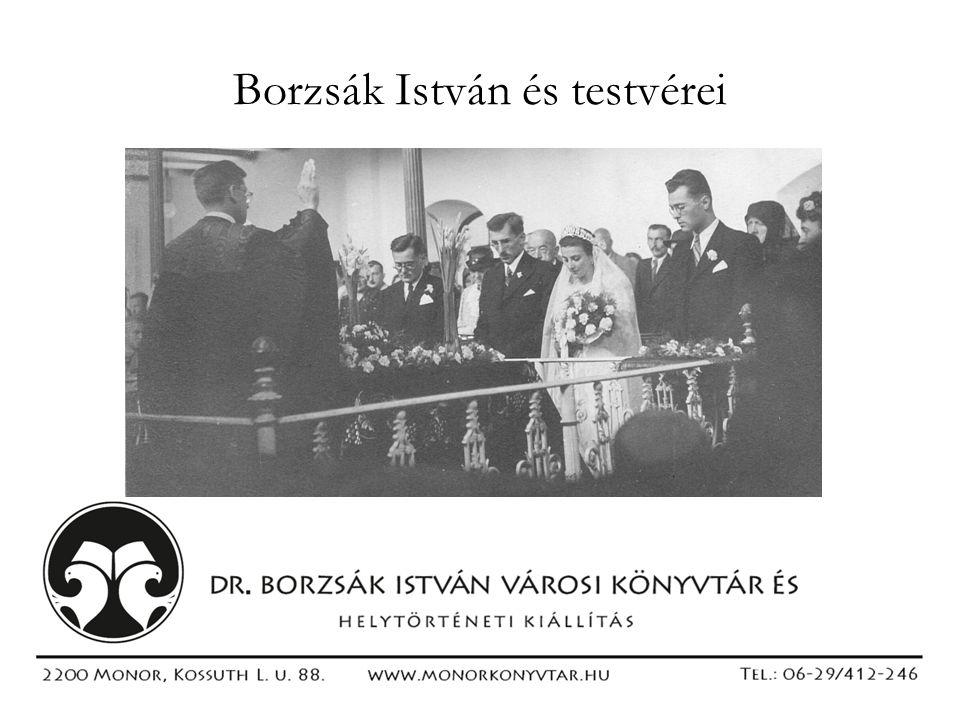 Borzsák István és testvérei