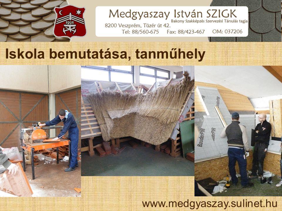 Iskola bemutatása, sportlétesítmények www.medgyaszay.sulinet.hu