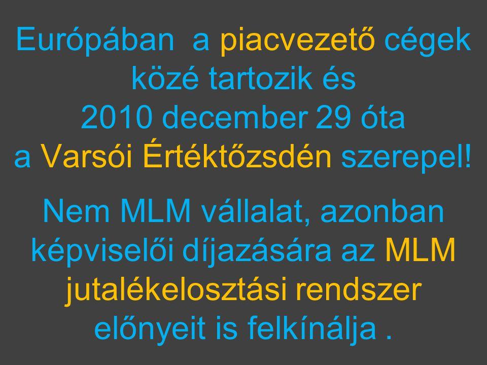 Európában a piacvezető cégek közé tartozik és 2010 december 29 óta a Varsói Értéktőzsdén szerepel.