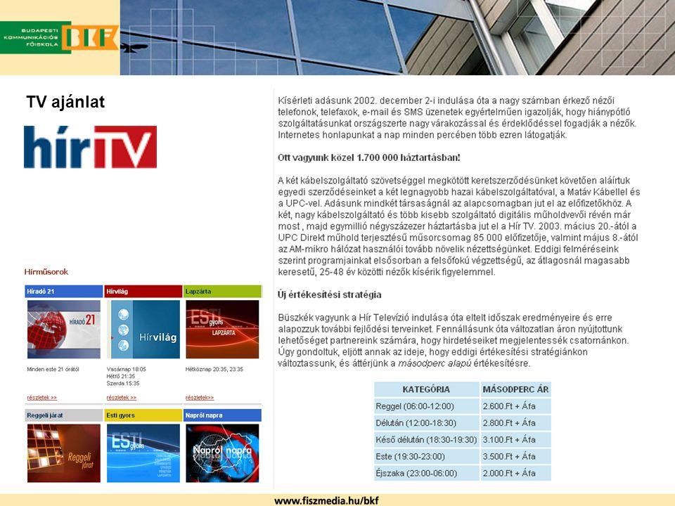 TV ajánlat