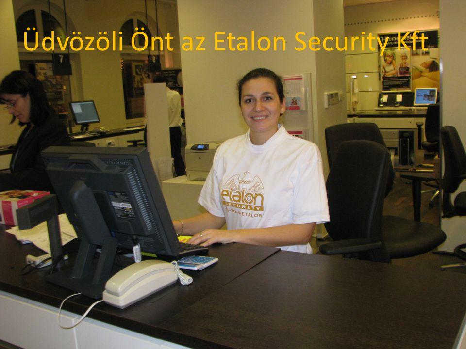 Üdvözöli Önt az Etalon Security Kft