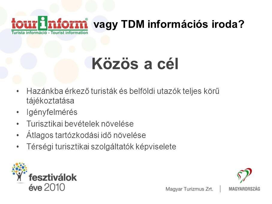 vagy TDM információs iroda.