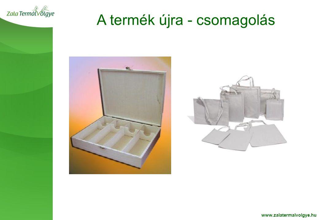 BelsoOldalFehér2 A termék újra - csomagolás www.zalatermalvolgye.hu