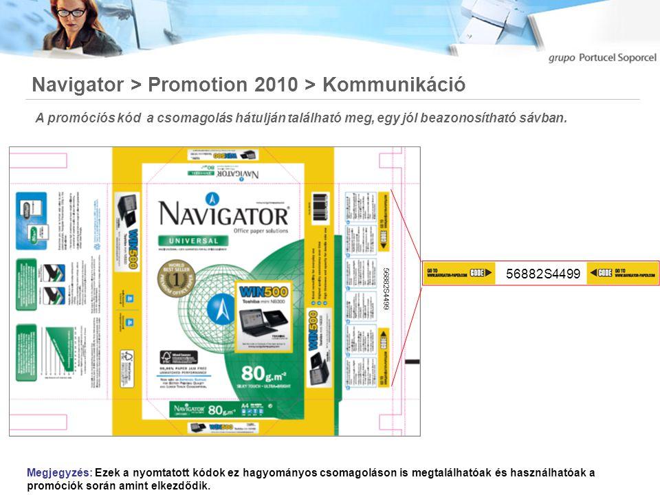 Navigator > Promotion 2010 > Alap mechanika 2010 Kampány folyamata az előző élvekhez képest hasonlóan egyszerű lesz.