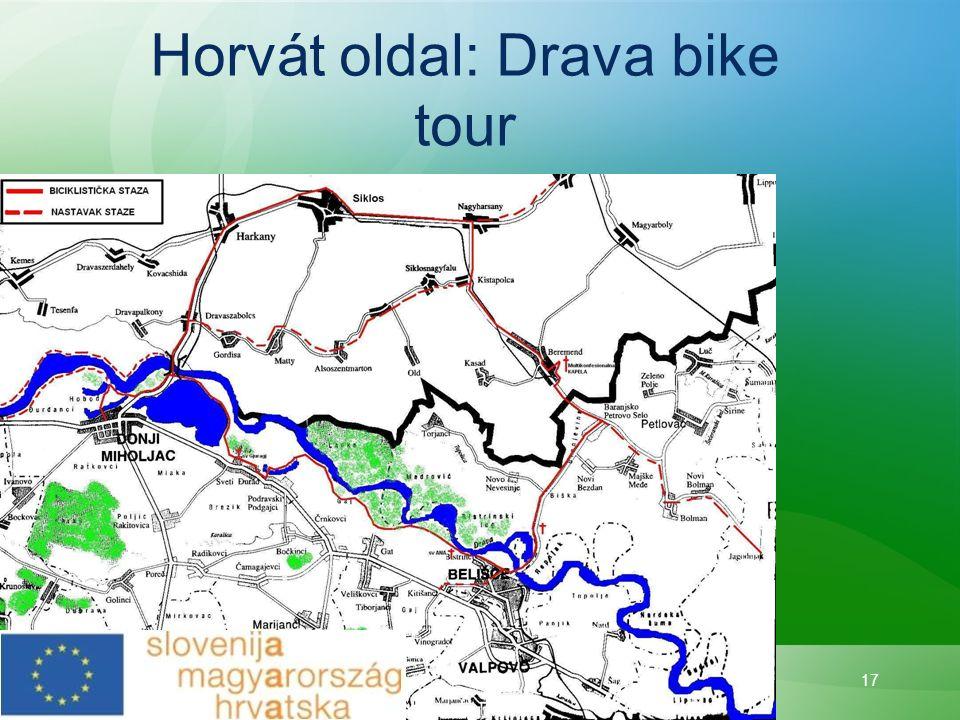 17 Horvát oldal: Drava bike tour