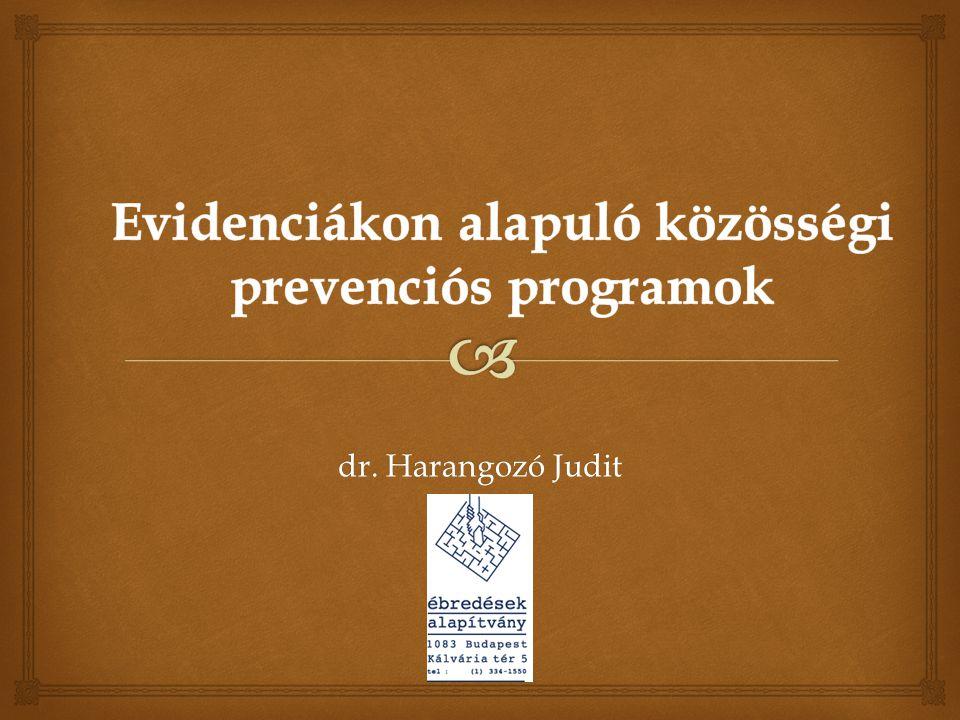   Az elsődleges, másodlagos és harmadlagos prevenció, valamint a lelki egészség-promóció hasonló érték- komponensekkel és gyakorta hasonló intervenciókkal működik jól  Van szándék az együttműködésre és vannak hazai jó gyakorlatok… Összefoglalás