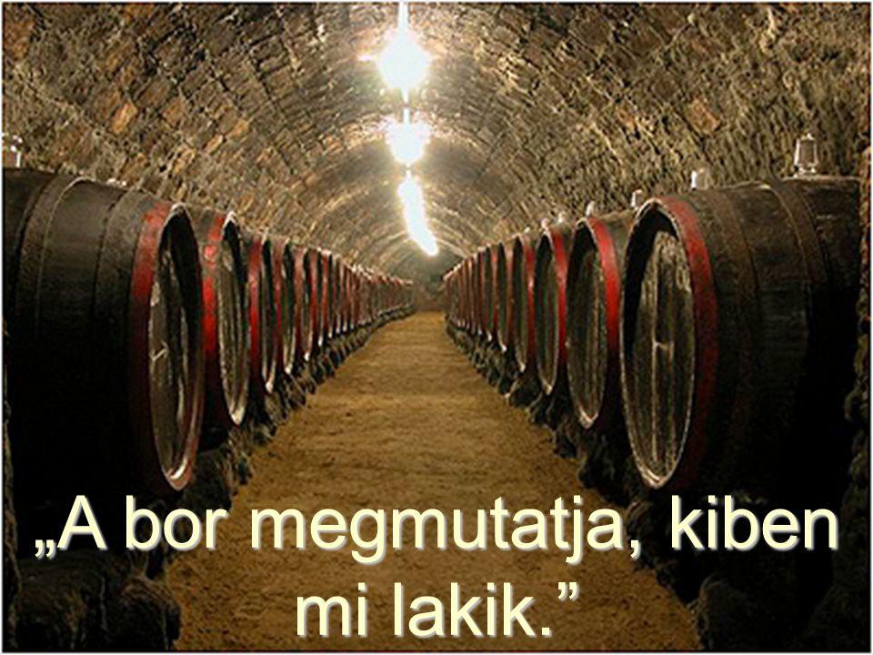 """""""A bor megmutatja, kiben mi lakik."""""""