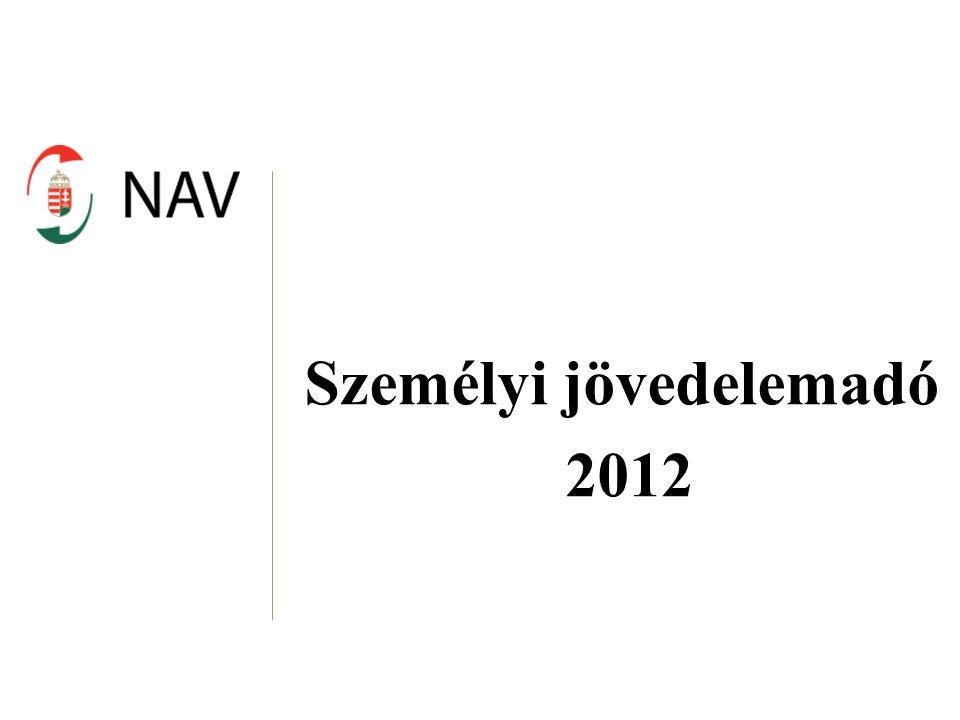Személyi jövedelemadó 2012